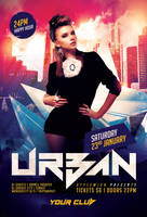Urban Party Flyer by styleWish