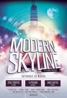 Modern Skyline Flyer by styleWish