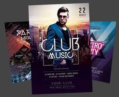 Club Flyer Bundle by styleWish