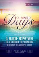 Summer Days Flyer by styleWish