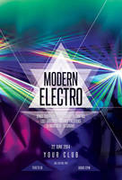 Modern Electro Flyer by styleWish