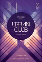 Urban Club Flyer by styleWish
