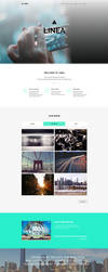 Linea - One Page Muse Theme by styleWish