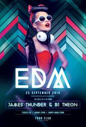 EDM Flyer by styleWish