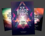 Techno Flyer Bundle by styleWish