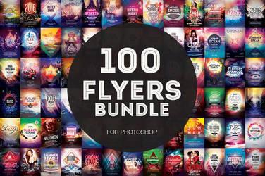 100+ Flyer Templates - Mega Bundle by styleWish