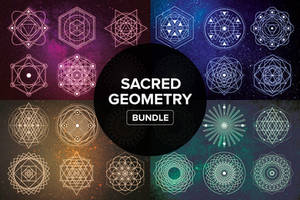 Sacred Geometry Bundle by styleWish