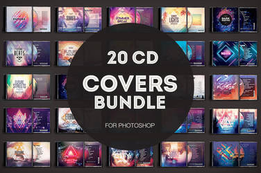 20 CD Covers Bundle by styleWish