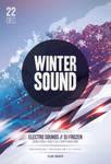 Winter Sound Flyer by styleWish