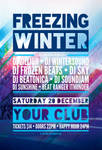 Freezing Winter Flyer by styleWish