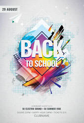 Back to School Flyer by styleWish