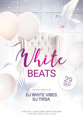 White-Beats-Flyer by styleWish