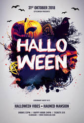 Halloween Flyer by styleWish