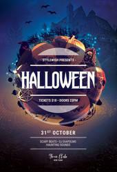 Halloween Flyer by styleWish