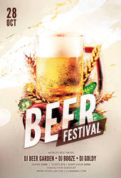 Beer Festival Flyer by styleWish