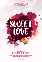 Sweet Love Flyer by styleWish