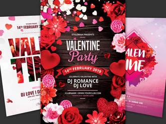 Valentine Flyer Bundle Vol.06 by styleWish