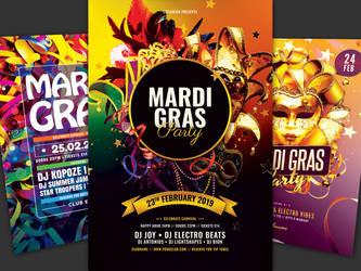 Mari Gras Flyer Bundle Vol.03 by styleWish