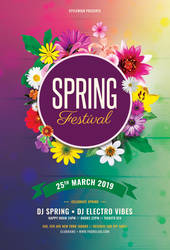 Spring Festival Flyer by styleWish
