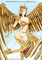 The Gold Angel by hendriempire