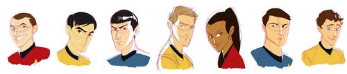 Trek Eleven by ngoziu