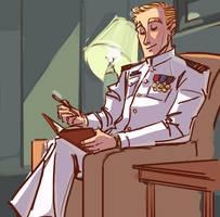 Commish7: Captain Kirk by ngoziu