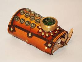 Navigator's Typewriter Key Wrist Guard by BruteForceStudios