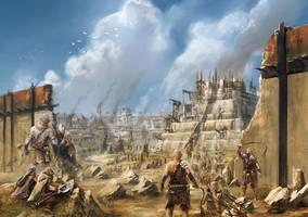 City of Keln by BGK-Bengiskhan