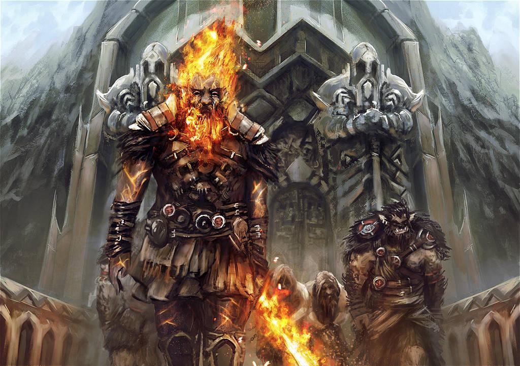 Dwarves enslaved by BGK-Bengiskhan