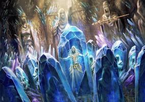 Crystal sanctuary by BGK-Bengiskhan