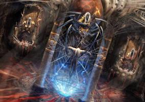 Drow's ritual by BGK-Bengiskhan