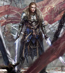 White swords by BGK-Bengiskhan
