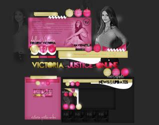 Design-Victoria Justice by AnneRDobbs