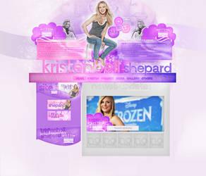 Ordered Design-Kristen Bell by AnneRDobbs