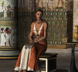 Ancient Egyptian by kiwihobbit