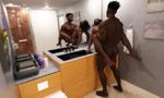 Hotel Bathroom WiP by kiwihobbit
