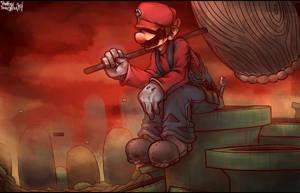 The Kingdom of Mushrooms by Marios-Tri4ce