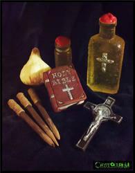 Edible Vampire Hunter Kit by JasonMcKittrick