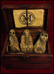 Paleolithic Cthulhu Idols by JasonMcKittrick