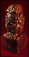Innsmouth Gold Cthulhu Idol by JasonMcKittrick