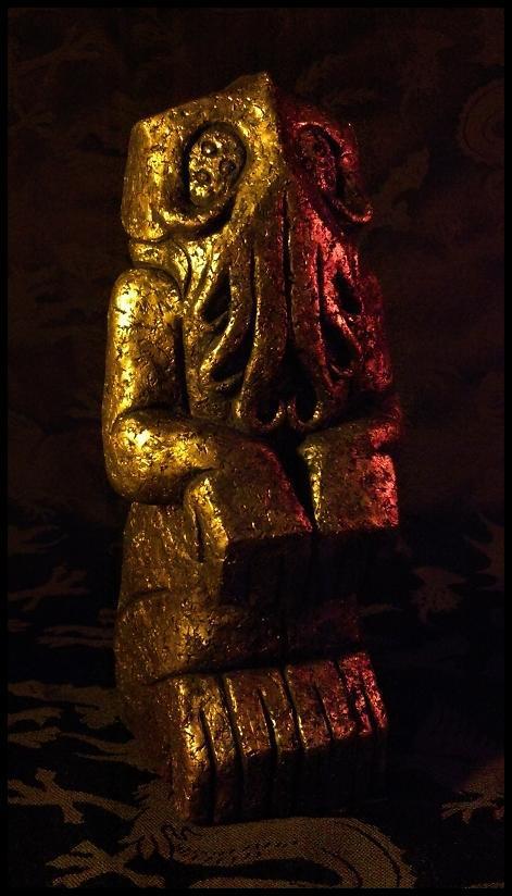 Blackbeard's Cthulhu Idol by JasonMcKittrick