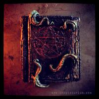Necronomicon Magnet by JasonMcKittrick