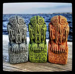 Arkham Cthulhu Idols by JasonMcKittrick