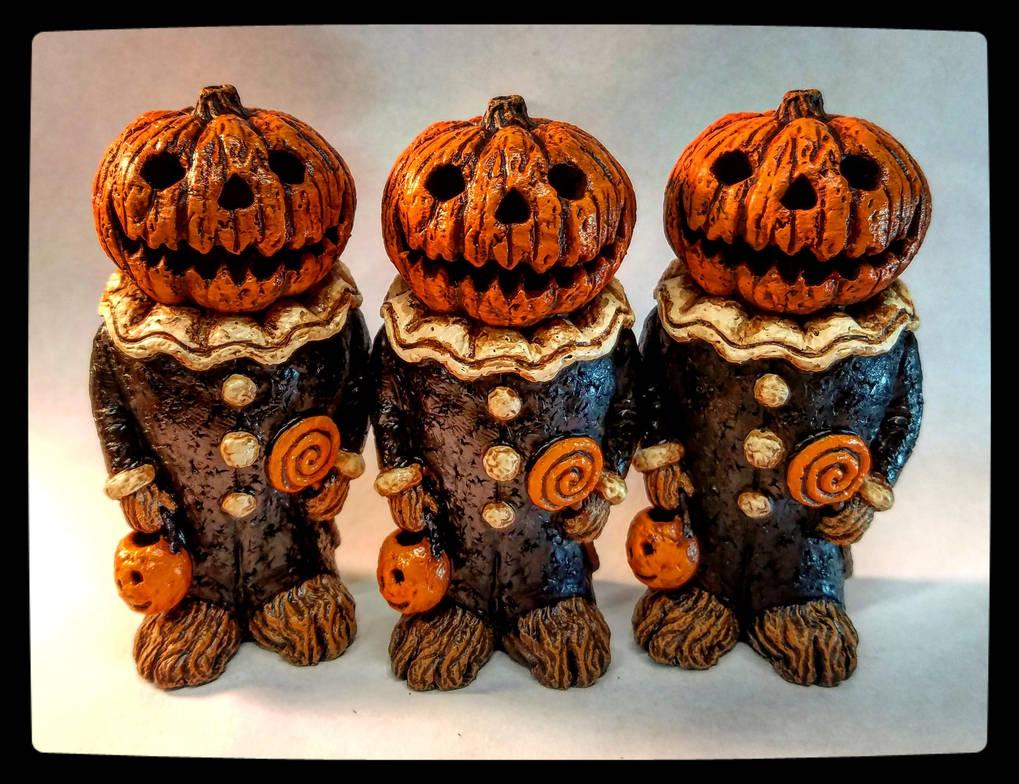 Pumpkin Clown by JasonMcKittrick