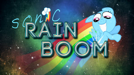 Epic Sonic Rainboom by atnezau