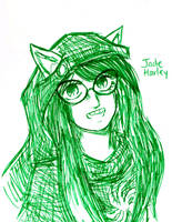 Jade: Smile! by dudeimmikayla