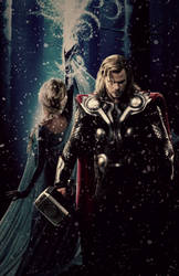 Unconditional - Thor/Elsa by LaChicaRara