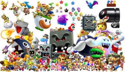 Mario Universe by Banjo2015