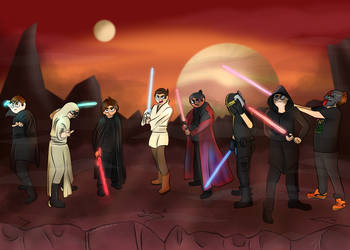 Star Wars - Commission by LaurenDraws01