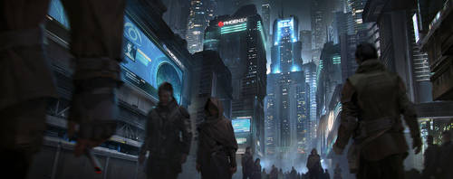 Cityscape Clean Final by MitchellMohrhauser